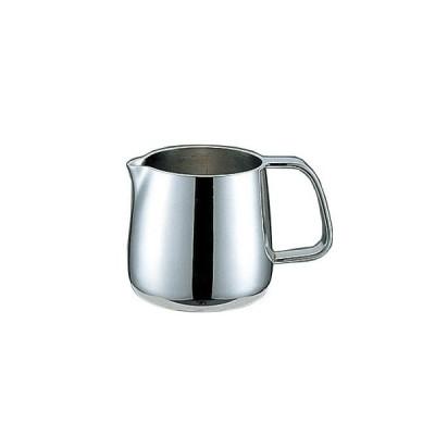 コーヒー器具 コーヒー用品 Yukiwa ステンレス製 Bタイプ型ミルクポット 100cc(7-1843-2901)