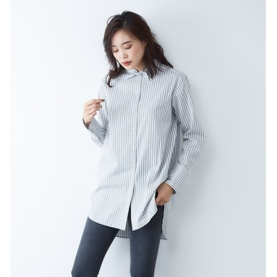 【ルージュ・ヴィフ ラクレ/Rouge vif la cle】 スカーフシャツ