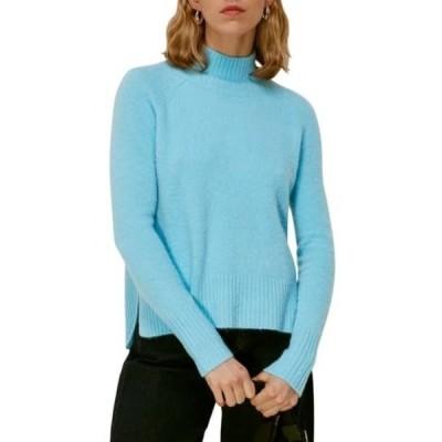 ホイッスルズ レディース ニット&セーター アウター Turtleneck Sweater PALE BLUE