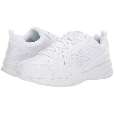 ニューバランス 608v5 メンズ スニーカー 靴 シューズ White/White