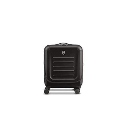 "新品 並行輸入品Victorinox Spectra 2.0 Dual-Access Hardside Spinner Suitcase, Black, Carry-On, Extra Capacity (21.7"")"