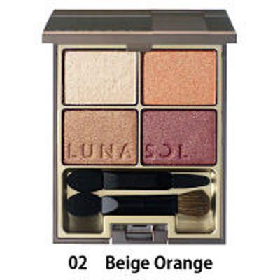カネボウ化粧品LUNASOL(ルナソル) スキンモデリングアイズ 02( Beige Orange)
