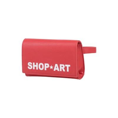 SHOP ★ ART バックパック&ヒップバッグ レッド ポリウレタン 100% バックパック&ヒップバッグ