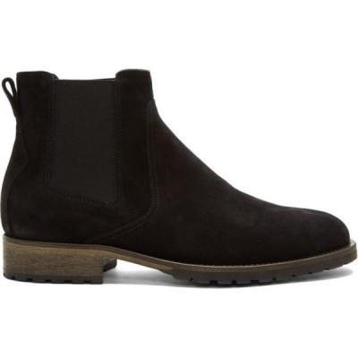ベルスタッフ Belstaff メンズ ブーツ シューズ・靴 black rustic suede rode boots Black