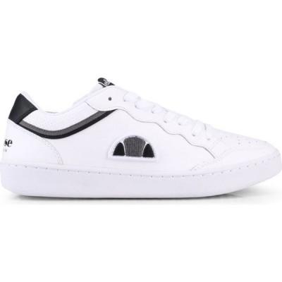 エレッセ Ellesse レディース スニーカー シューズ・靴 Archivium Leather Trainers White/Black/Dark Grey