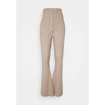 ファッションユニオン レディース ファッション FLAGSTAFF TROUSERS - Trousers - beige