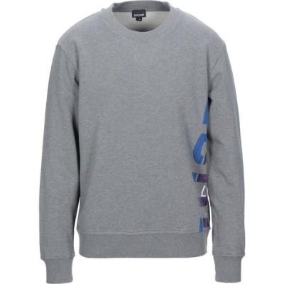 ジャスト カヴァリ JUST CAVALLI メンズ スウェット・トレーナー トップス sweatshirt Grey