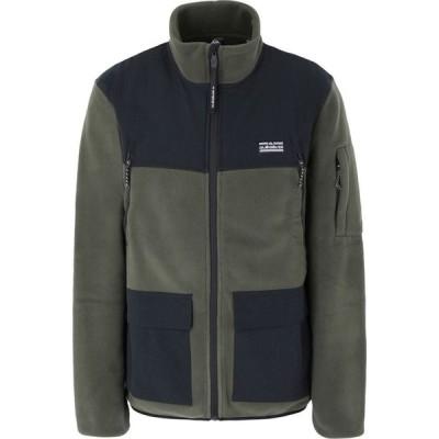 クイックシルバー QUIKSILVER メンズ フリース トップス Qs Fleece Lost Latitude Polartec Fleece Military green
