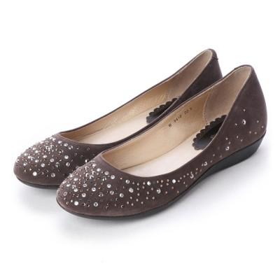 シューズラウンジ shoes lounge パンプス 7094104BRS (ブラウン)