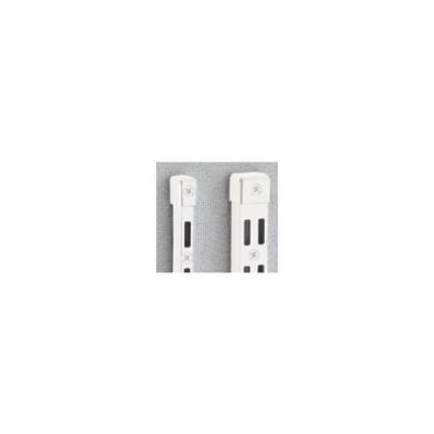 リフォーム用品 収納・内装 システム収納 チャンネルサポート:ロイヤル チャンネルサポート用 断面保護キャップ ホワイト シングル用
