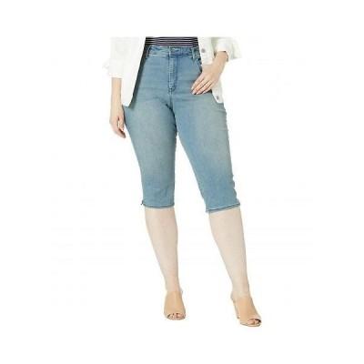 NYDJ Plus Size エヌワイディージェー レディース 女性用 ファッション ジーンズ デニム Plus Size Skinny Capris in Arroyo - Arroyo
