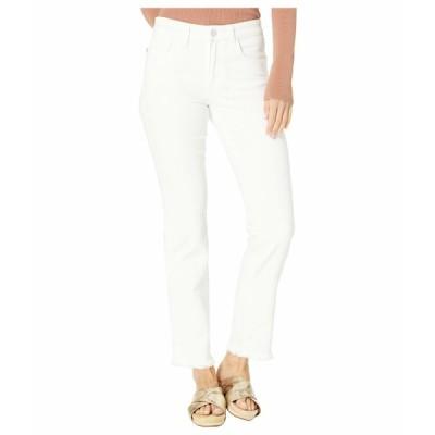 ジョーズジーンズ デニムパンツ ボトムス レディース Lara Cigarette Ankle Cut Hem Jeans in White White