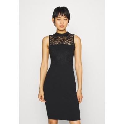 アンナフィールド ワンピース レディース トップス Cocktail dress / Party dress - black