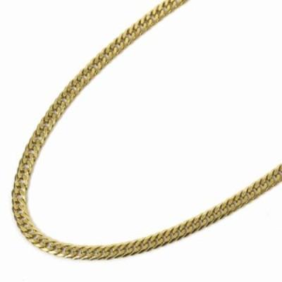 【中古】no brand ノーブランド 喜平 6面 ダブル 全長約 52cm 約 28.8g ネックレス ユニセックス ゴールド K18イエローゴールド ジュエリ