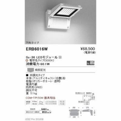 遠藤照明 【送料無料】ERB6016W LEDZ Mid Power/Ss series/LEDZ Mid Power series テクニカルブラケット/アウトドアテクニカルブラケット