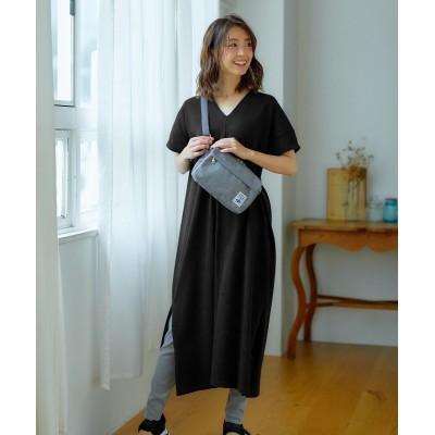 【2点セット】Tシャツワンピース+レギンスパンツ ,スマイルランド, ワンピース, plus size dress