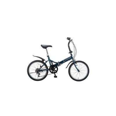 折りたたみ自転車 キャプテンスタッグ フォークFDB206 20インチ ダークグリーン