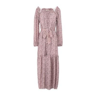 トリー バーチ TORY BURCH ロングワンピース&ドレス ピンク 4 シルク 100% ロングワンピース&ドレス