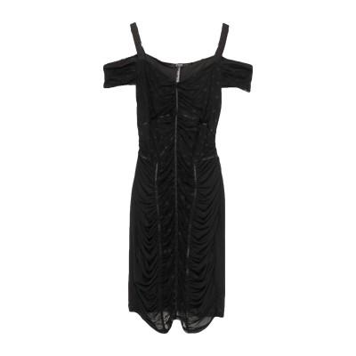 ゲス GUESS ミニワンピース&ドレス ブラック M ナイロン 92% / ポリウレタン 8% / ポリウレタン ミニワンピース&ドレス