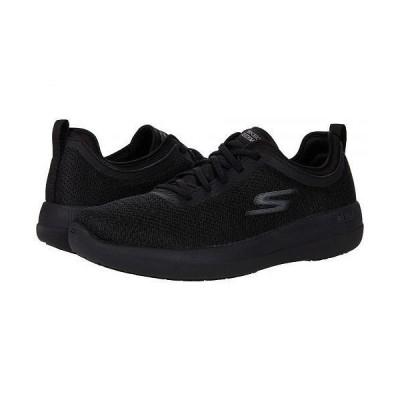 SKECHERS Performance スケッチャーズ メンズ 男性用 シューズ 靴 スニーカー 運動靴 Go Walk Max Deluxe - 216142 - Black