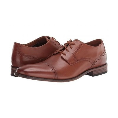 Bostonian ボストニアン メンズ 男性用 シューズ 靴 オックスフォード 紳士靴 通勤靴 Lamont Cap - Tan Leather
