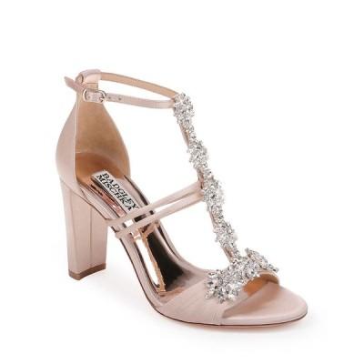 バッジェリーミシュカ レディース サンダル シューズ Laney Embellished Jacquard Sandals