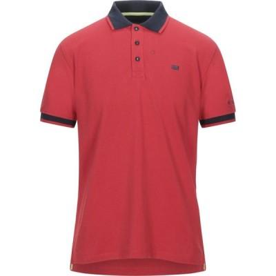 イエスズィー バイ エッセンツァ YES ZEE by ESSENZA メンズ ポロシャツ トップス Polo Shirt Red