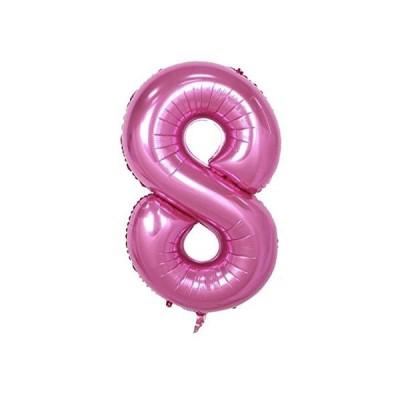 パーティーパーク アルミバルーン ピンク 数字 ナンバー 0−9選べる 組み合わせ自由 約90cm 誕生日 誕生会 ?