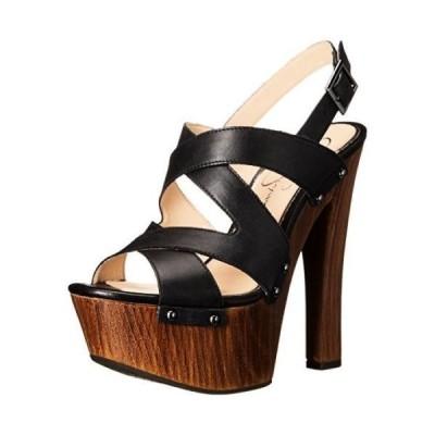 ヒール ハイヒール ジェシカシンプソン Jessica Simpson DAMELO レディース Damelo Platform ドレス サンダル. Black
