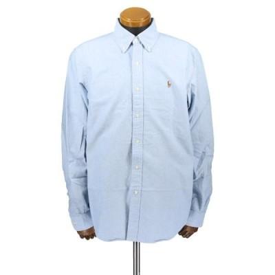ポロラルフローレン オックスフォードシャツ メンズ M ブルー 710548535 002