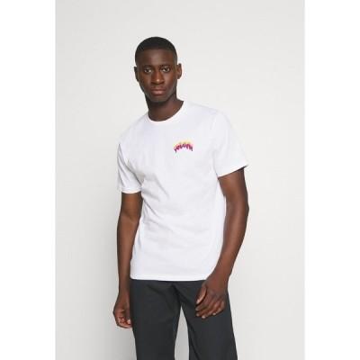 ボルコム Tシャツ メンズ トップス MICHAEL WALRAVE  - Print T-shirt - white
