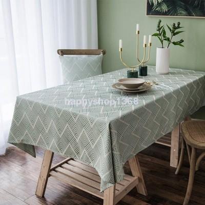 テーブルクロス 撥水 北欧 おしゃれ 布 洗いやすい テーブル掛け トクプラ 熱いものも大丈夫