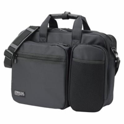 クラウン カジュアルビジネスバッグ 黒 1 個 CR-BB749-B 文房具 オフィス 用品