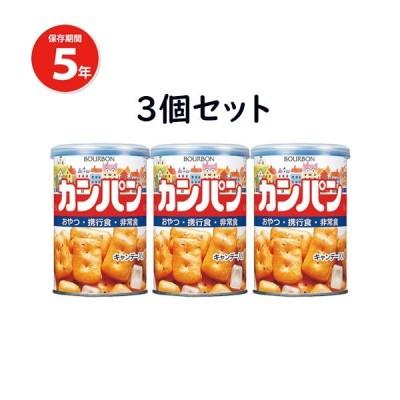 ブルボン 缶入りカンパン 100g×3缶セット 乾パン 長期保存食 非常食 防災グッズ 262J0001