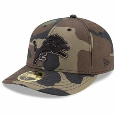 New Era ニュー エラ スポーツ用品  New Era Detroit Lions Woodland Camo Low Profile 59FIFTY Fitted Hat