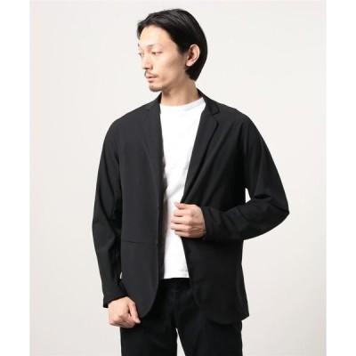 ジャケット テーラードジャケット MONOBI/テックウール セットアップ2Bジャケット
