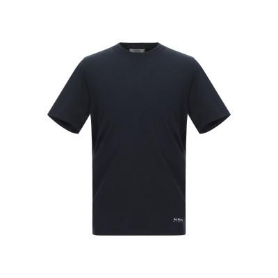 アルファスタジオ ALPHA STUDIO T シャツ ダークブルー 46 コットン 92% / ポリウレタン 8% T シャツ