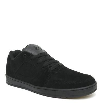 ES SHOES エス シューズ スニーカー ACCEL SLIM 黒/黒/黒 BLACK/BLACK/BLACK スケートボード  スケボー  SKATEBOARD