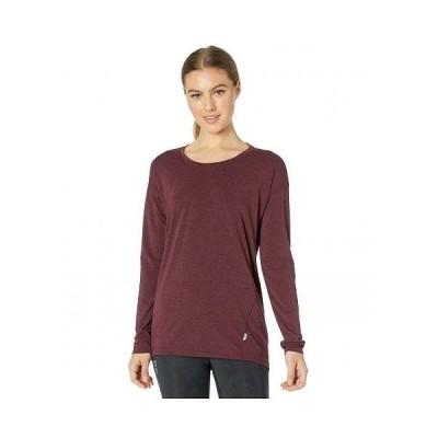On オン レディース 女性用 ファッション アクティブシャツ Comfort Long-T - Mulberry