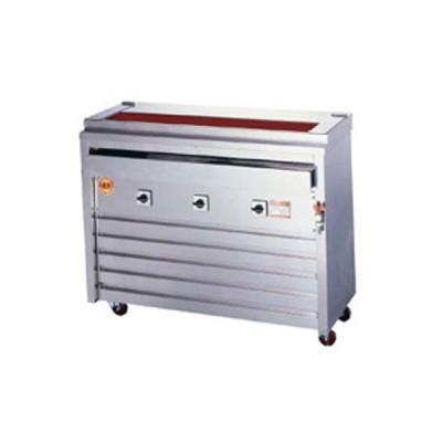 業務用 ヒゴグリラー 焼鳥専大串タイプ(床置型)三相200V 幅1,060×奥行410×高さ850 (3P-212XW)