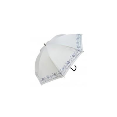 Fair mode 晴雨兼用傘 50cm ショート あじさい SS-2026 ホワイト