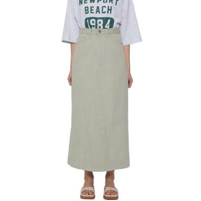 レディース スカート Herb Cotton Long Skirt