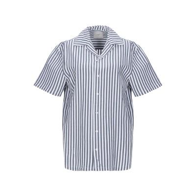 MINIMUM シャツ グレー L コットン 100% シャツ