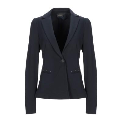 リュー ジョー LIU •JO テーラードジャケット ブラック 48 レーヨン 71% / ナイロン 24% / ポリウレタン 5% テーラードジャ