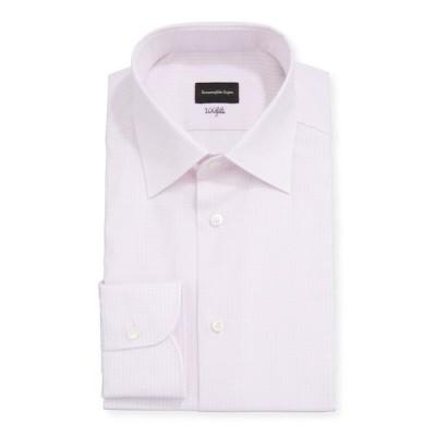 エルメネジルド・ゼニア メンズ シャツ トップス Men's Check Regular-Fit Dress Shirt