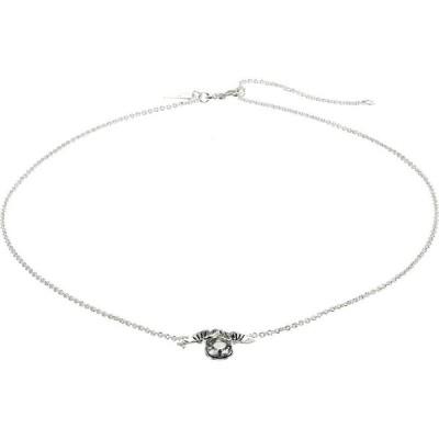 コーチ COACH レディース ネックレス ジュエリー・アクセサリー Tearose Cluster Pendant Necklace Crystal