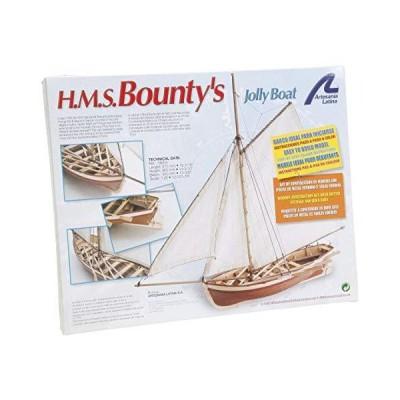 Artesania Latina 19004. Wooden ship model HMS Bounty's Jolly Boat 1/25 並行輸入品