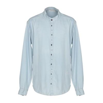 HAPPINESS デニムシャツ ブルー XL コットン 100% デニムシャツ