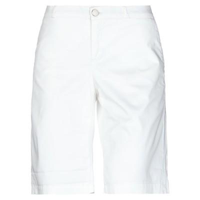 ジェッカーソン JECKERSON バミューダパンツ ホワイト 26 コットン 98% / ポリウレタン 2% バミューダパンツ