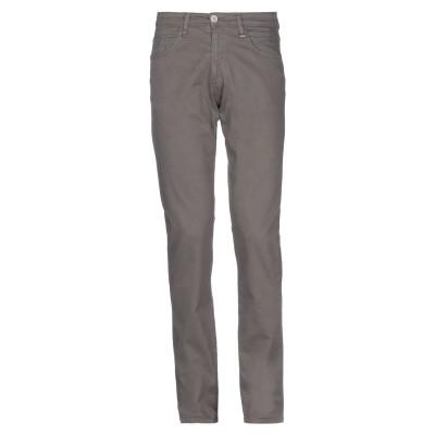 LIU •JO MAN パンツ 鉛色 46 コットン 98% / ポリウレタン 2% パンツ